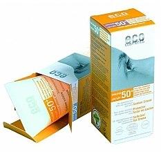 Profumi e cosmetici Crema solare SPF 50+ con estratto di melograno e olivello spinoso - Eco Cosmetics Suntan Cream SPF 50+