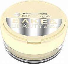Profumi e cosmetici Cipria in polvere - Bell HypoAllergenic Bake & Beauty Loose Powder