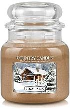 Profumi e cosmetici Candela profumata - Country Candle Cozy Cabin