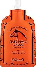 Profumi e cosmetici Crema viso all'olio di cavallo - Beausta Jeju Mayu Cream