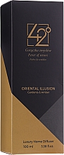 """Profumi e cosmetici Diffusore di aromi """"Illusione orientale"""" - 42° by Beauty More Oriental Illusion Gardenia & Amder Luxury Home Diffuser"""