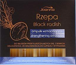 Profumi e cosmetici Fiale rinforzanti per capelli - Joanna Turnip Description Strengthening Ampoules