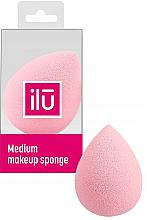Profumi e cosmetici Sugna trucco, goccia media, rosa - Ilu Sponge Raindrop Medium Pink