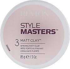 Profumi e cosmetici Argilla modellante per capelli - Revlon Professional Style Masters Matt Clay