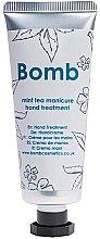 Profumi e cosmetici Crema mani - Bomb Cosmetics Mint Tea Manicure Hand Treatment
