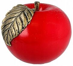 "Profumi e cosmetici Candela decorativa alla paraffina ""Apple"", 8 cm, rossa - Artman"