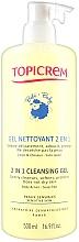 Profumi e cosmetici Gel detergente 2 in 1 per il corpo - Topicrem Soins Bebe Bio Gel Nettoyant