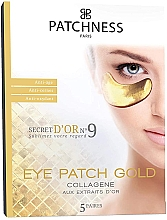 Profumi e cosmetici Patch occhi antietà con estratto d'oro - Patchness Eye Patch Gold