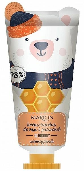 Crema-maschera protettiva per mani e unghie - Marion Funny Animals Hand Cream Mask