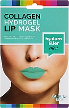 Profumi e cosmetici Maschera labbra in idrogel con collagene - Beauty Face Collagen Hydrogel Lip Mask Hyaluro Filler