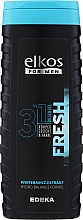 Profumi e cosmetici Gel doccia per uomo - Elkos For Men 3in1 Fresh Shower Gel