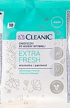 Profumi e cosmetici Salviette per l'igiene intima, 10pz - Cleanic Intensive Care Wipes