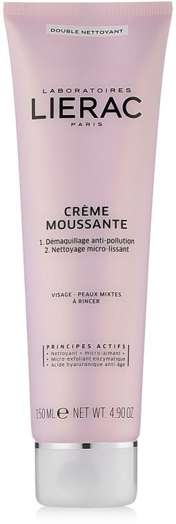 Crema Schiuma Detergente - Lierac Double Nettoyant Creme Moussante — foto N1