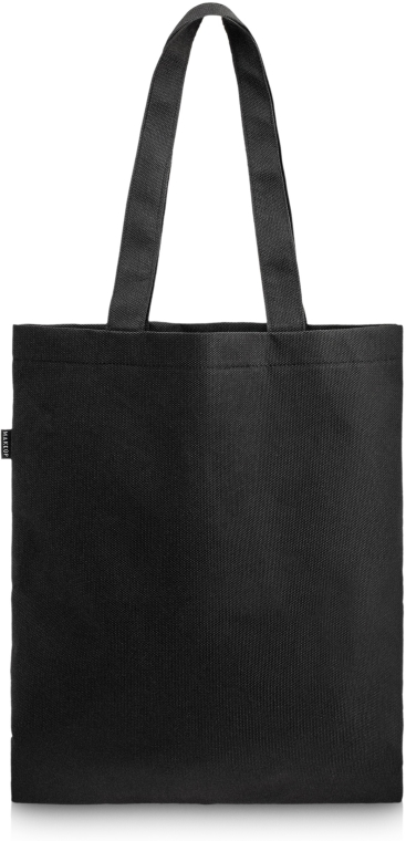 "Borsa shopper, nera ""Springfield"" - MakeUp Eco Friendly Tote Bag Black"