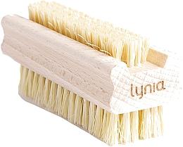 Profumi e cosmetici Spazzola in legno per mani e unghie - Lynia