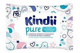 Profumi e cosmetici Salviette per bambini - Kindii Pure