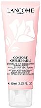 Profumi e cosmetici Crema mani idratante con estratto di miele d'acacia e acqua di rose - Lancome Confort