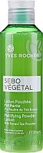 Profumi e cosmetici Lozione-cipria opacizzante - Yves Rocher Sebo Vegetal Lotion