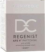 Profumi e cosmetici Crema viso antirughe 40+, da notte - Dermedic Regenist ARS 4 Phytohial Night Anti-Wrinkle Enhancing Renewal Cream
