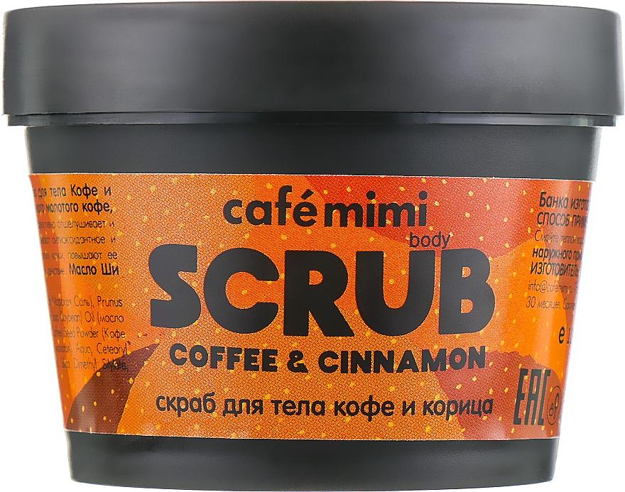 """Scrub corpo """"Caffè e Cannella"""" - Cafe Mimi Body Scrub Coffee & Cinnamon"""