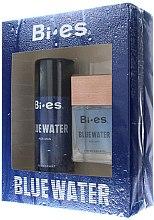 Profumi e cosmetici Bi-Es Blue Water Men - Set (edt/100ml + deo/150ml)