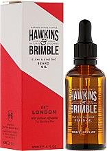 Profumi e cosmetici Olio di barba - Hawkins & Brimble Elemi & Ginseng Beard Oil