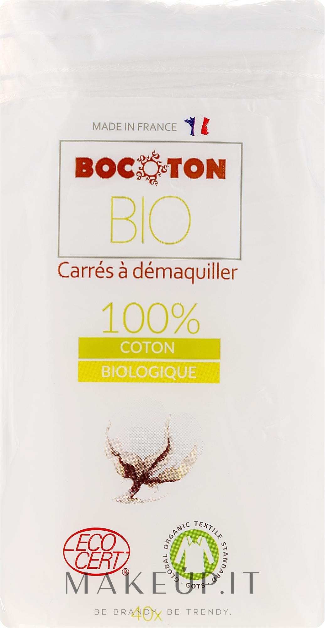 Dischetti di cotone, 75x75 mm, 40 pezzi - Bocoton — foto 40 pz.