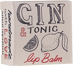 Balsamo labbra - Bath House Gin & Tonic Lip Balm Lemon & Juniper — foto N3