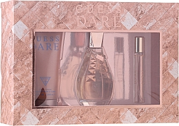 Profumi e cosmetici Guess Dare - Set (edt/100ml + b/lot/200ml + edt/15ml)