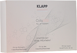 Profumi e cosmetici Set - Klapp Collagen Starter Set Home Treatment