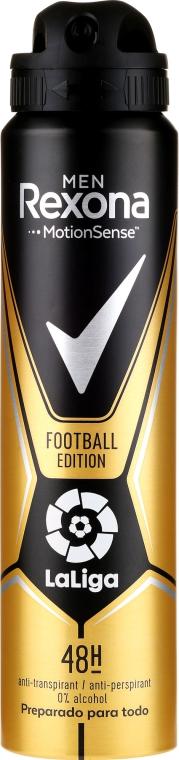 Deodorante antitraspirante uomo - Rexona Men MotionSense La Liga Football Edition Antiperspirant