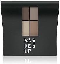 Profumi e cosmetici Ombretto opaco - Make Up Factory Mat Eye Colors