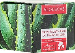 Profumi e cosmetici Crema viso idratante da giorno - Aloesove