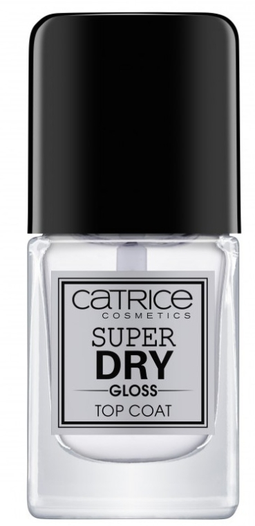 Top coat - Catrice Super Dry Gloss Top Coat