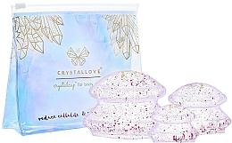 Profumi e cosmetici Bolle di silicone per il massaggio del corpo - Crystallove Crystal Body Cupping Set