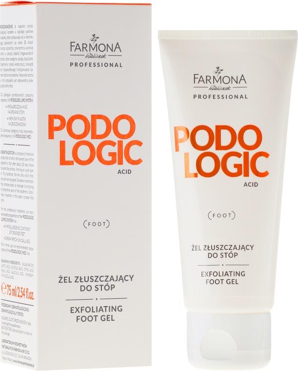 Gel-esfoliante per i piedi - Farmona Professional Podologic Acid Foot Gel Exfoliating