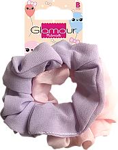 Profumi e cosmetici Elastici per capelli, 417616, rosa e viola - Glamour