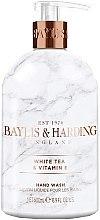 Profumi e cosmetici Sapone liquido mani - Baylis & Harding White Tea & Vitamin E Hand Wash