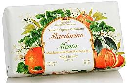 """Profumi e cosmetici Sapone naturale """"Mandarino e Menta"""" - Saponificio Artigianale Fiorentino Tangerine & Mint Soap"""