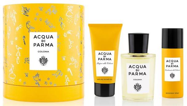Acqua Di Parma Colonia - Set (edc/100ml + sh/gel/75ml + deo/50ml)