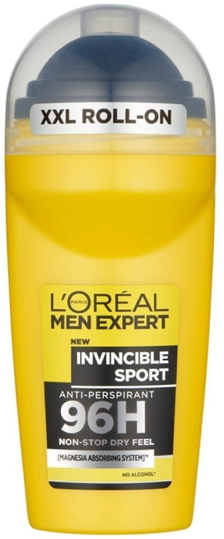 "Deodorante roll-on ""Sport invincibile"" - L'Oreal Paris Men Expert Invincible Sport 96H Roll On"