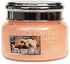 Profumi e cosmetici Candela profumata in barattolo - Village Candle English Flower Shop Glass Jar