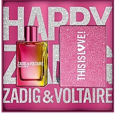 Profumi e cosmetici Zadig & Voltaire This is Love! for Her - Set (edp/50ml + bag)