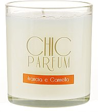 Profumi e cosmetici Candela profumata - Chic Parfum Arancia E Cannella Candle