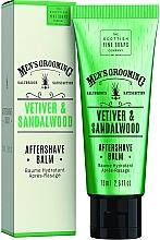 """Profumi e cosmetici Balsamo dopobarba """"Vetiver e Sandalo"""" - Scottish Fine Soaps Vetiver Sandalwood Aftershave Balm"""