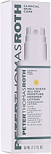 Profumi e cosmetici Lozione solare idratante viso - Peter Thomas Roth Max Sheer All Day Moisture Defense Lotion SPF30