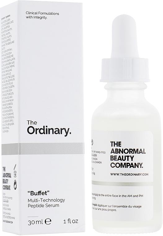 Siero viso con peptidi - The Ordinary Buffet Multi-Technology Peptide Serum