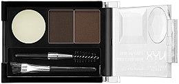 Profumi e cosmetici Kit per sopracciglia - NYX Professional Makeup Eyebrow Cake Powder