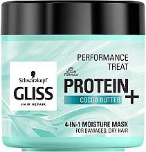 Profumi e cosmetici Maschera idratante per capelli danneggiati e deboli 4in1 - Schwarzkopf Gliss Kur Performance Treat