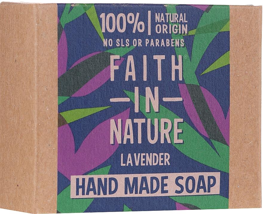 Sapone per mani alla lavanda - Faith In Nature Lavender Soap — foto N1